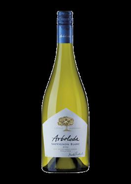 Imagen Botella de Vino Sauvignon Blanc, Arboleda, Chile product ID 1725 BIN 6408