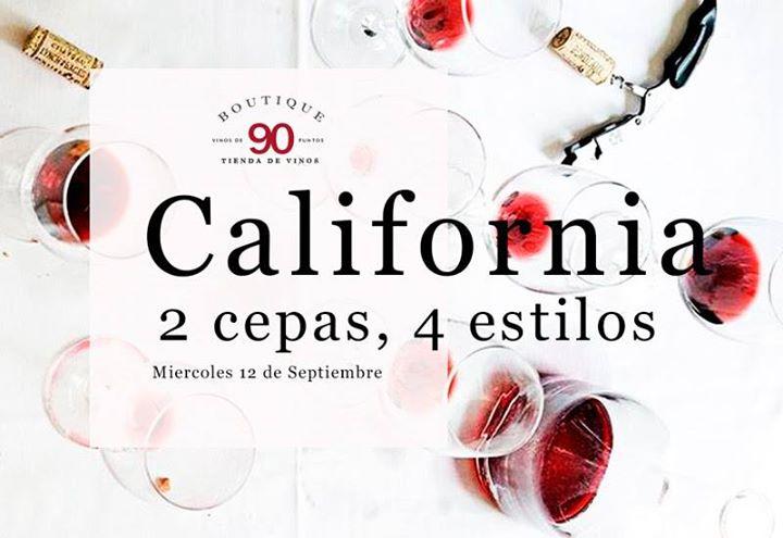 California | 2 cepas, 4 estilos
